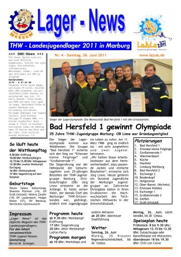 Bad Hersfeld 1 gewinnt Olympiade - LaJuLa 2011