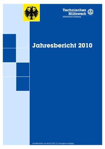 Jahresbericht 2010 - THW Lüneburg