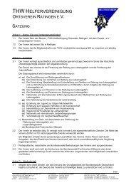 Hamburg Münchener Ersatzkasse - THW Ortsverband Ratingen