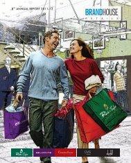 Annual Report - Brandhouse Retails