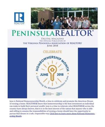 Peninsula REALTOR® June 2018