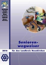 Seniorenwegweiser 2010 - Landkreis Neunkirchen