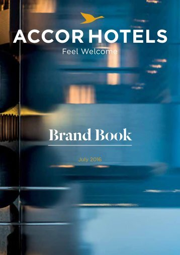 Accor Hotels Brand Book