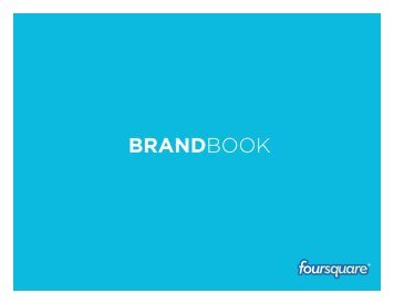 foursquare brand book