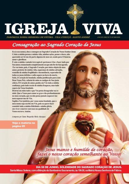 Revista Igreja Viva Edição Junho 2018