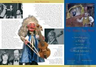 Stylus Phantasticus Puppet Players Der Blaue Kurfürst