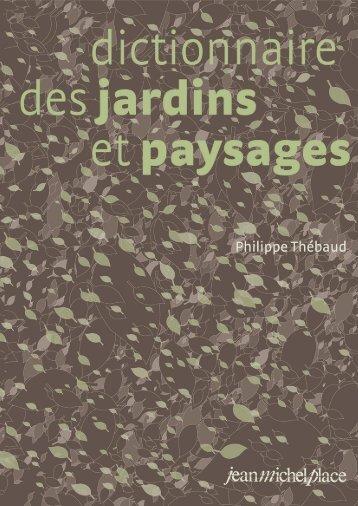 végétaux ligneux d'ornement - Jean-Michel Place