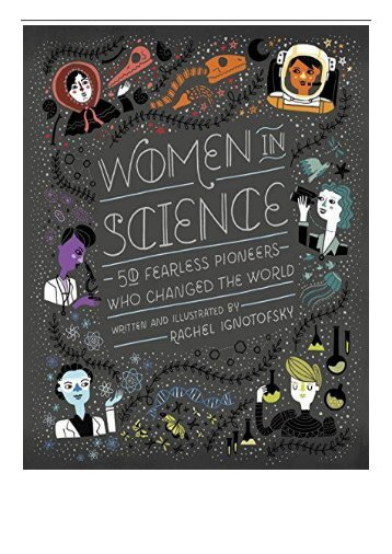 eBook Women in Science 50 Fearless Pioneers Who Changed the World Free eBook