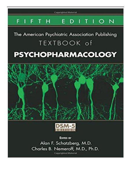 PDF Download American Psychiatric Association Publishing
