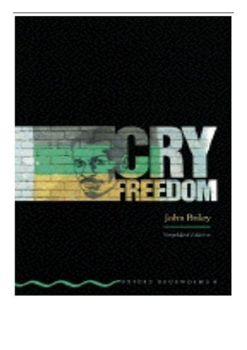 PDF Download Cry Freedom Oxford Bookworms Free books