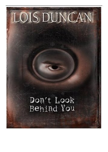 PDF Download Don't Look Behind You Free books
