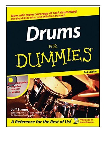 PDF Download Drums For Dummies Free eBook