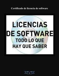 Qué es un certificado de licencia de software