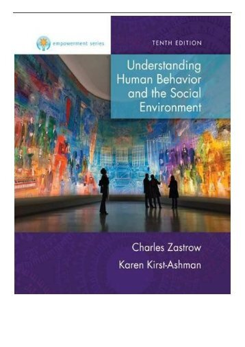PDF Download Empowerment Series Understanding Human Behavior and the Social Environment Mindtap Course