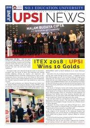 UPSI Newsletter June 2018
