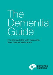 Dementia Australia | The Dementia Guide