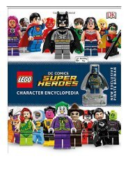 PDF Download Lego DC Comics Super Heroes Character Encyclopedia Free online