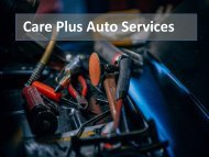 Excellent Car Service in South Melbourne by Care Plus Auto Services