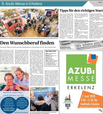 9. Azubi-Messe in Erkelenz  -06.06.2018-