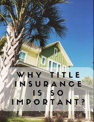 Why Title Insurance Is So Important?