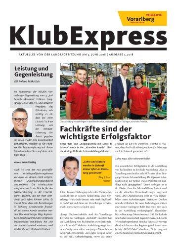 Klubexpress Juni 2018