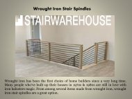 Wrought Iron Stair Spindles