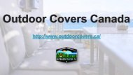 Importance Of Outdoor Patio Covers - Outdoor Covers Canada