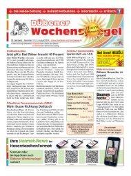 Dübener Wochenspiegel - Ausgabe 14 - Jahrgang 2017
