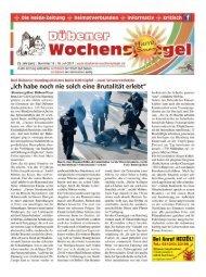 Dübener Wochenspiegel - Ausgabe 13 - Jahrgang 2017
