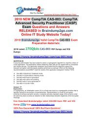 (June-2018-Version)Braindump2go CAS-003 VCE and CAS-003 PDF 270Q Free Share(56-66)