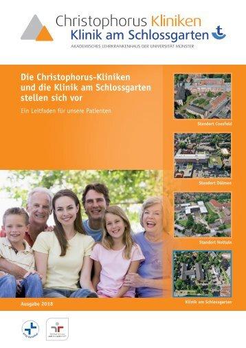 Krankenhausmagazin Christophorus-Kliniken