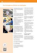 Krankenhausmagazin Christophorus-Kliniken - Page 6