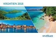 Kroatien Ferien Katalog 2018 - Croaticum