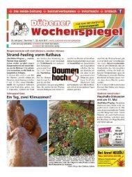 Dübener Wochenspiegel - Ausgabe 07 - 26_04_2017