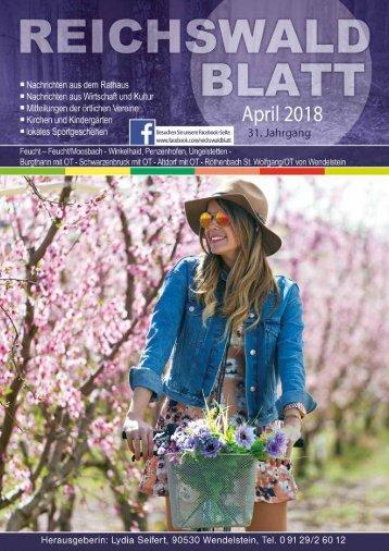 Reichswaldblatt - April 2018
