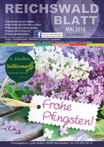 Reichswaldblatt - Mai 2018