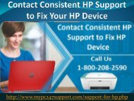 HP Tech Support Phone Number