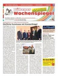 Dübener Wochenspiegel - Ausgabe 05 - 22_03_2017