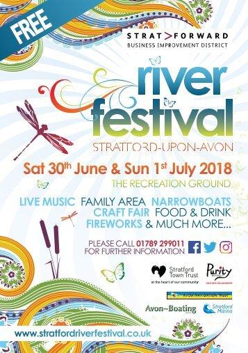 Stratford River Festival Brochure 2018