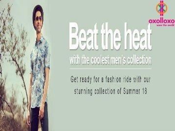 Men's Summer Wear Online Shopping from Oxolloxo