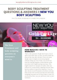 Body Sculpting Treatment Questions & Answers __ New You Body Sculpting