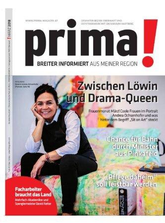prima! Magazin – Ausgabe März 2018