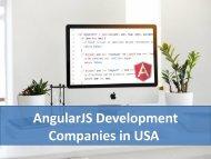 Top AngularJS Development Companies in USA