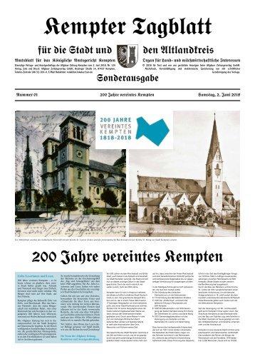 200 Jahre vereintes Kempten