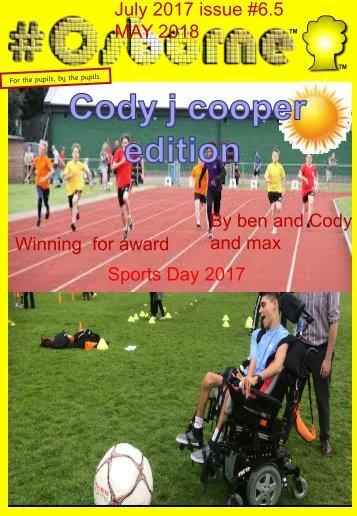 #Osborne Issue 6.5 - Cody Cooper Edition