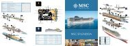 MSC SPLENDIDA - Mahart Tours