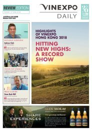 Vinexpo Daily 2018 - Review Edition