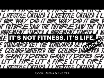 GFI Life Hacks - Social Media