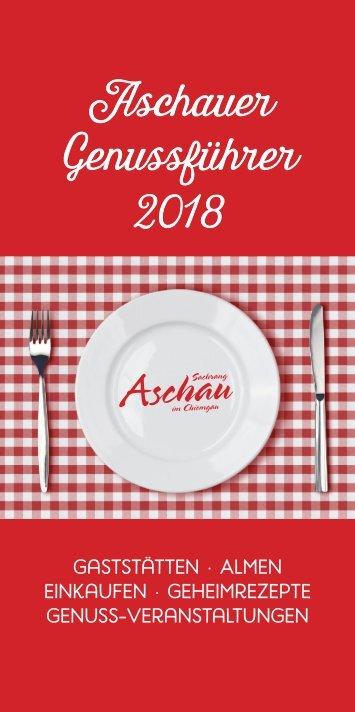 Genussort 2018 Aschau im Chiemgau