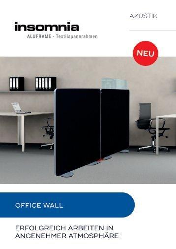 OfficeWall by INSOMNIA- Aluframe, Flyer